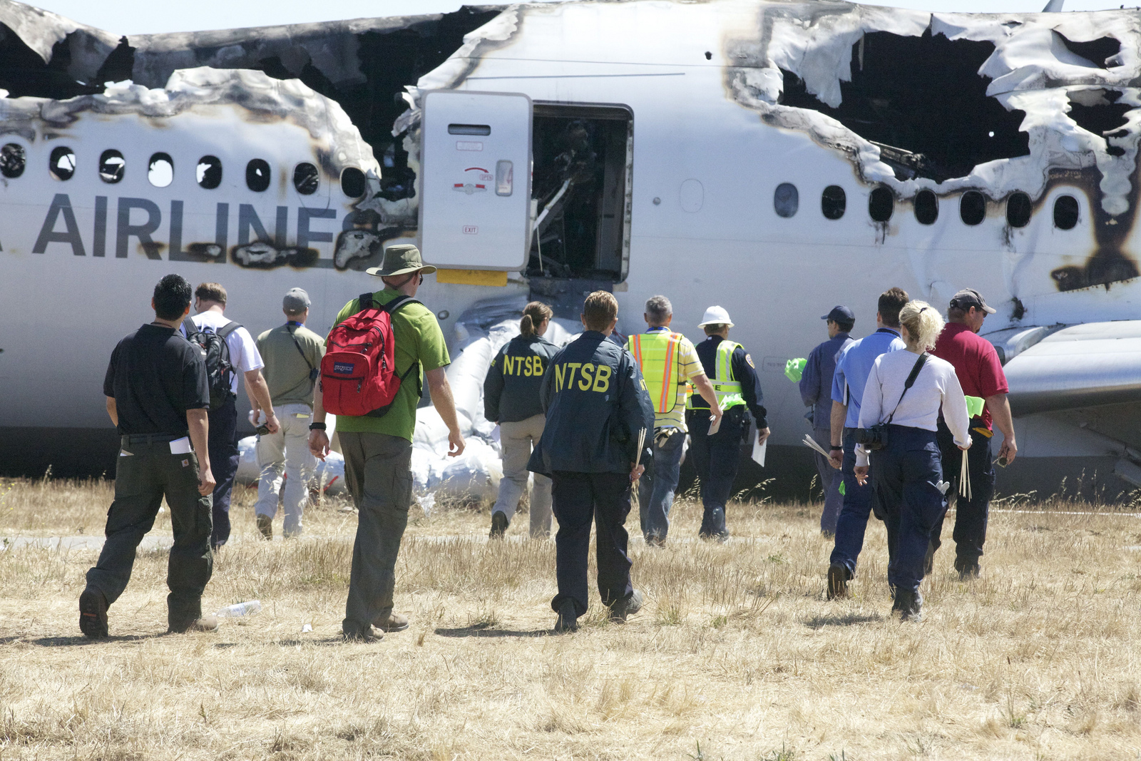 Asiana Survivor Released from SF General Hospital