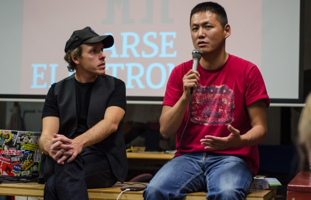 Any conference on sex and technology couldn't entirely ignore pornography. Yoshi Obayashi, a local comedian and nine-year veteran of the pornography industry, delivered the closing address.