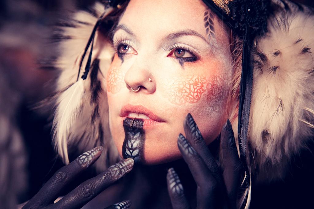 TODAY: Free Día de los Muertos Airbrushing Makeup