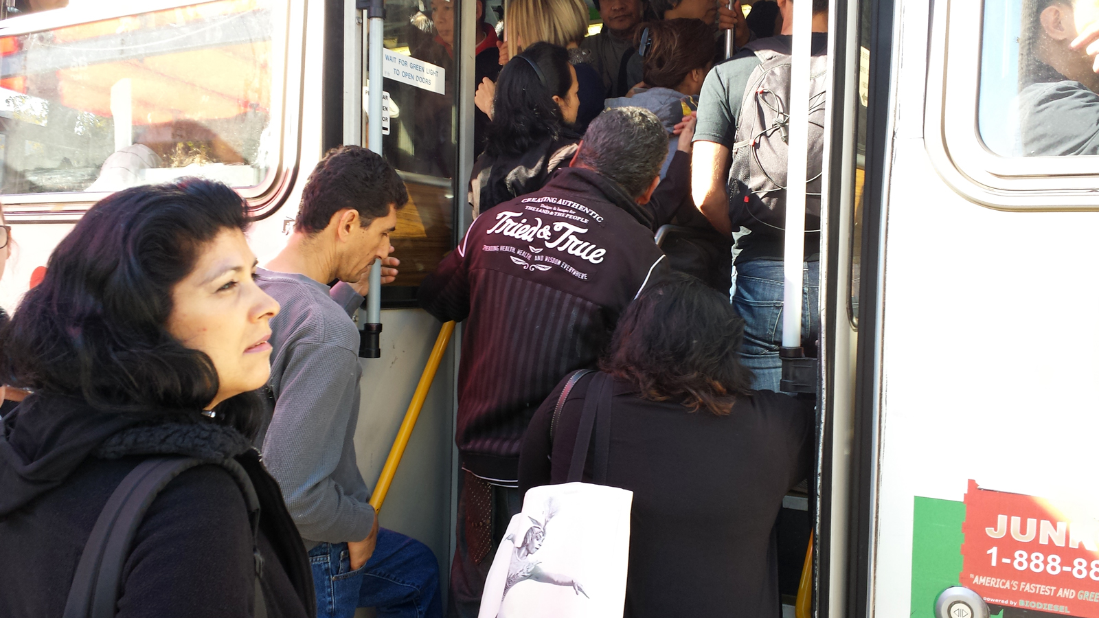 Passengers Pack Muni and Commute Times Soar