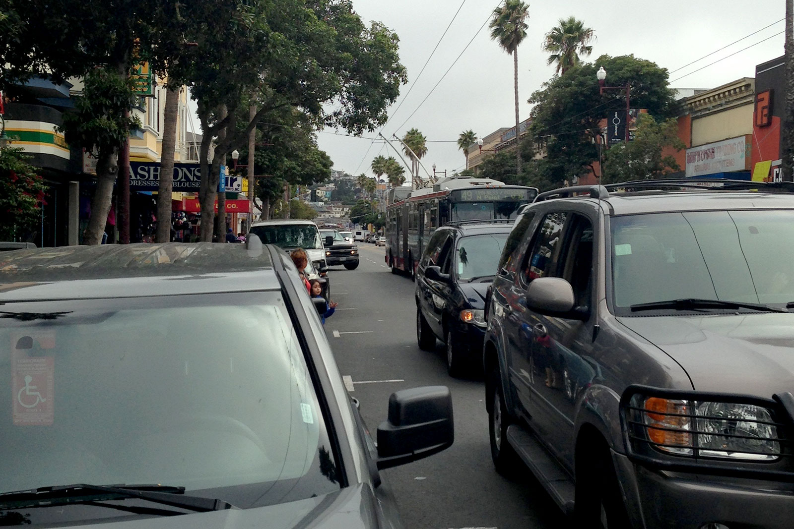 Supervisors Seek Cure for Double-Parking 'Epidemic'