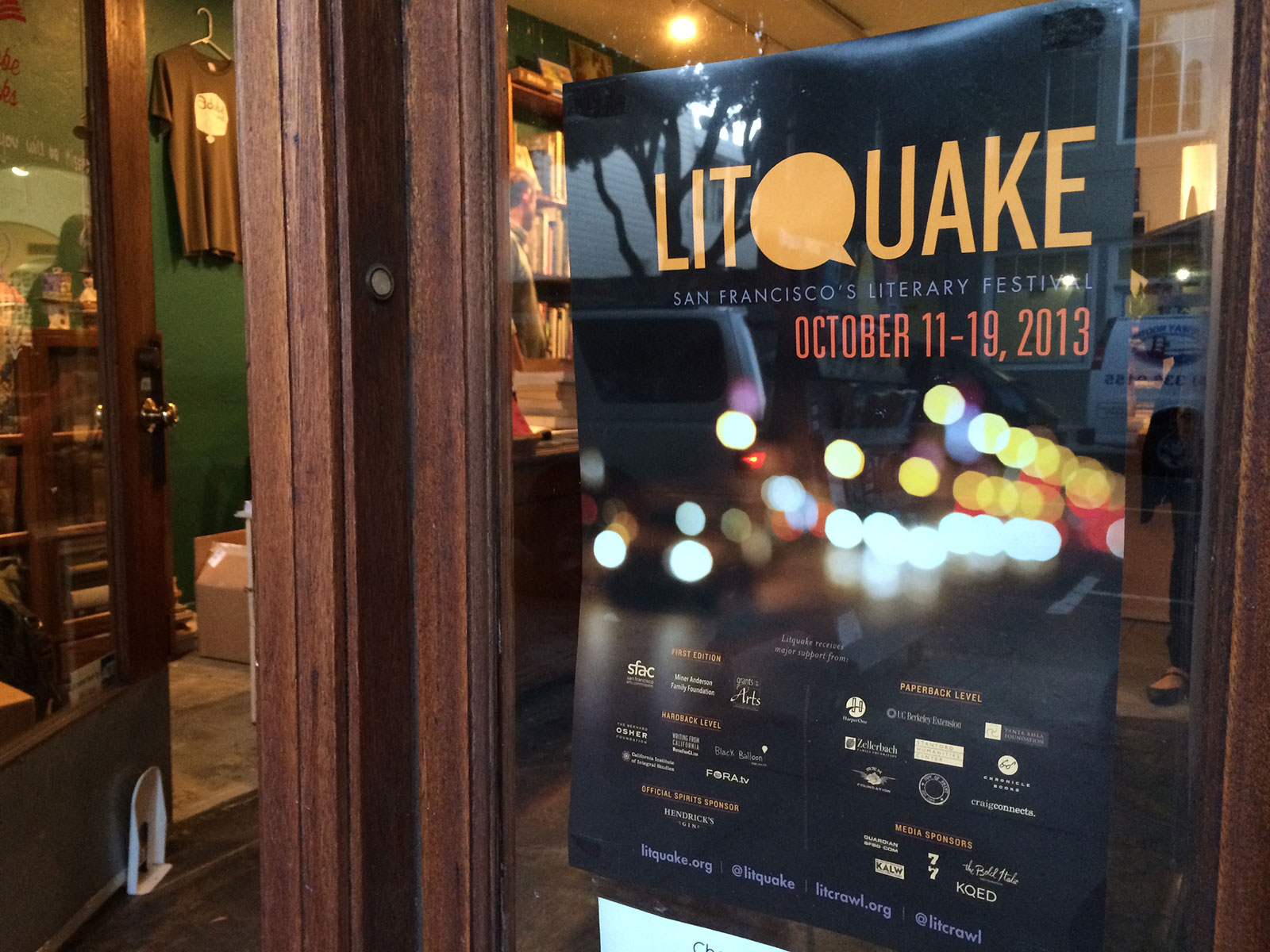 Litquake Event Relocates to SF Mission's Alamo Drafthouse