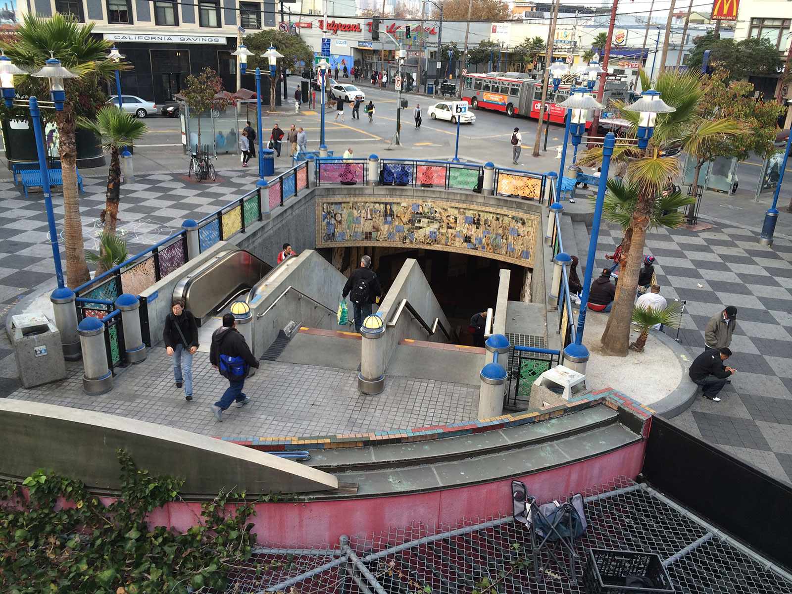 BART Plazas, Homelessness: Thinking Longer-Term