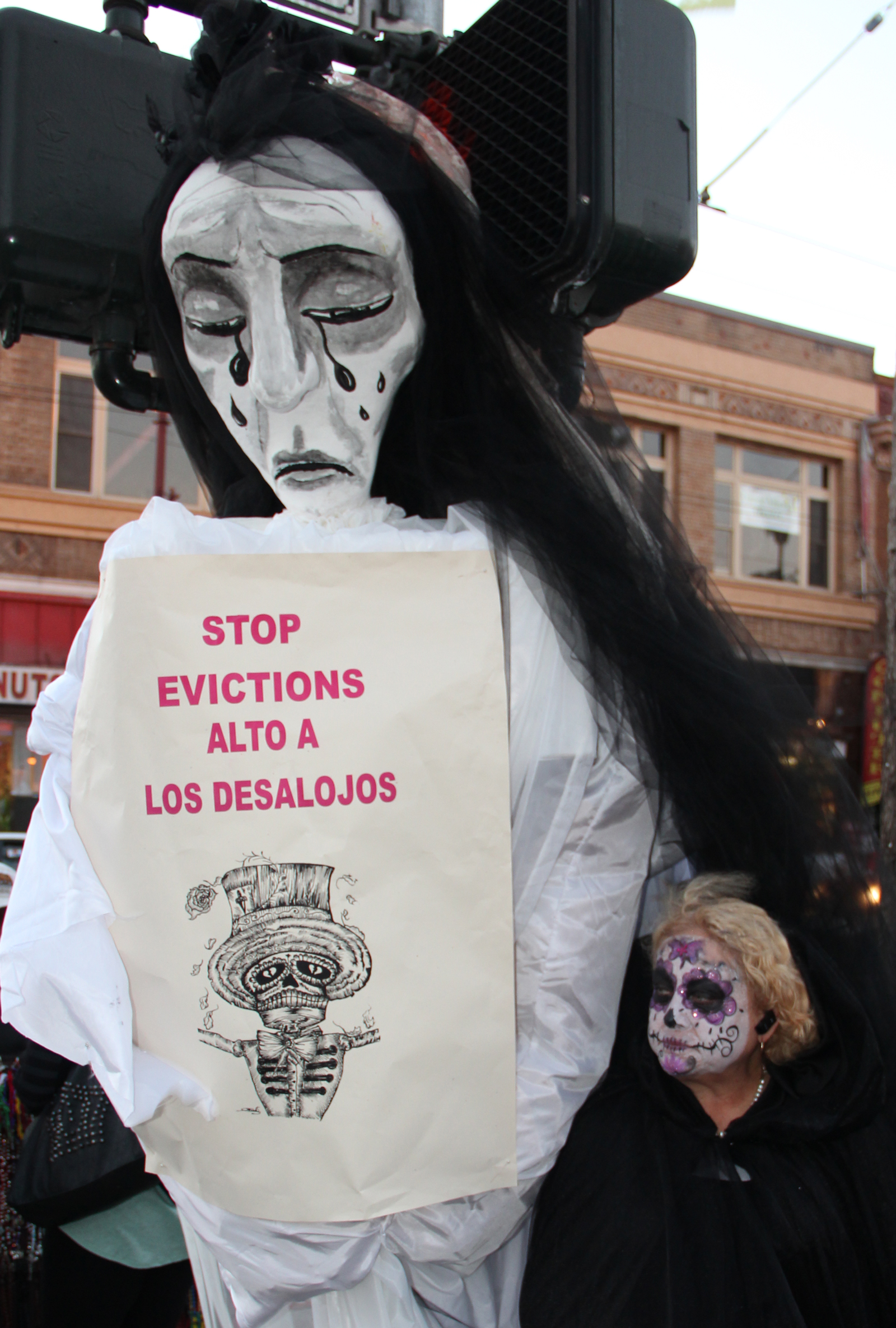 SNAP: Mourning for Evicted Residents
