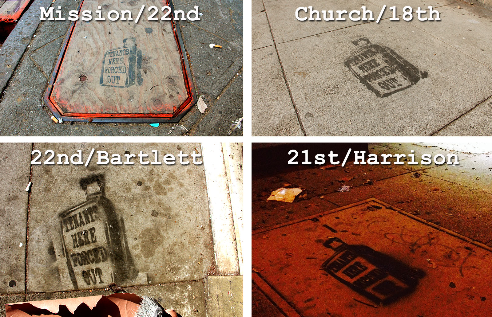 Q & A: The Eviction Stencils