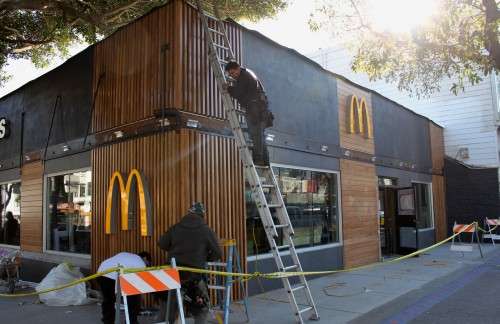 24th-Mission McDonald's Goes Fancy