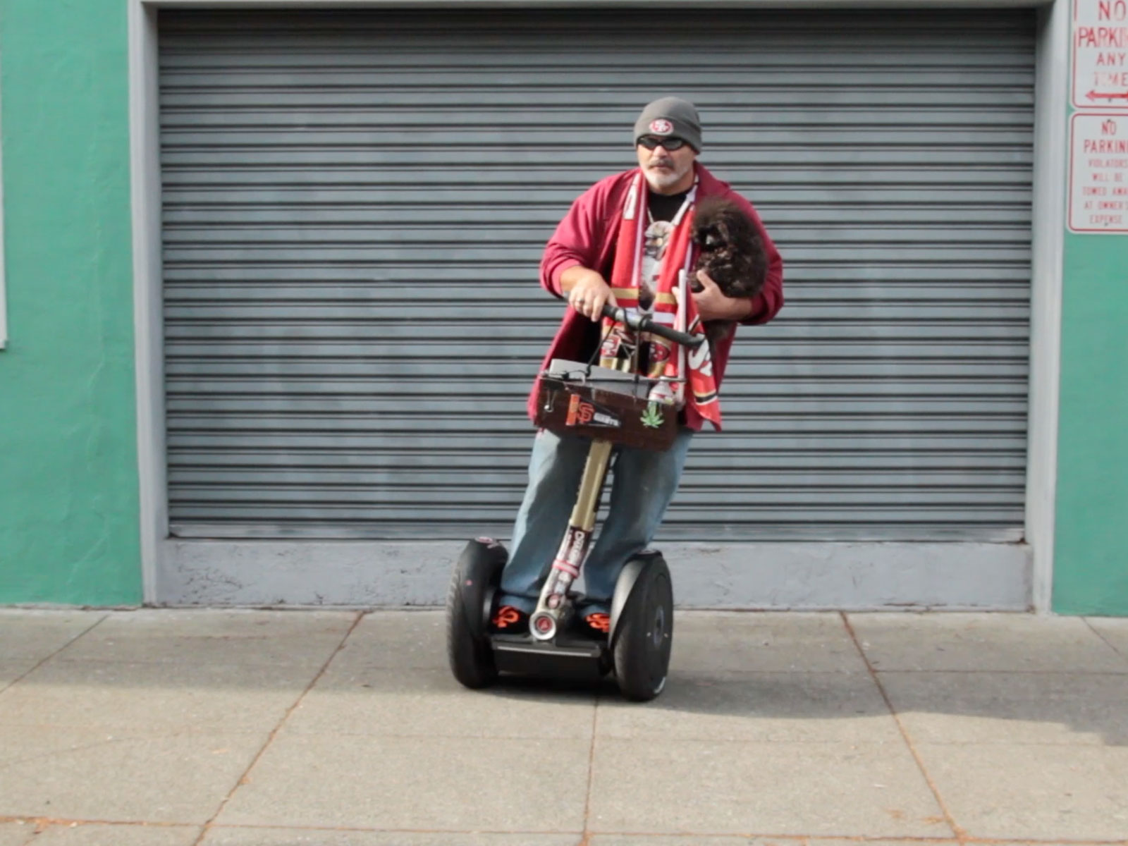VIDEO: The Mission Segway Guy: John Marksman