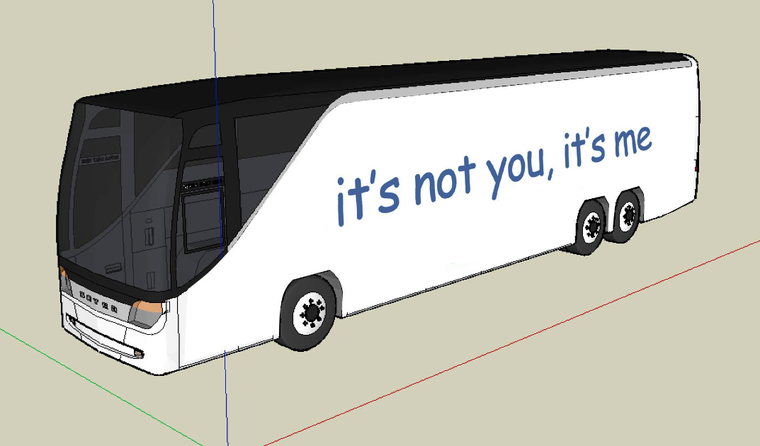 BUS CONTEST: It's Not You, It's Me by Joshua Churchill