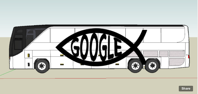 BUS CONTEST: Losing My Religion by  Stephanie Syjuco