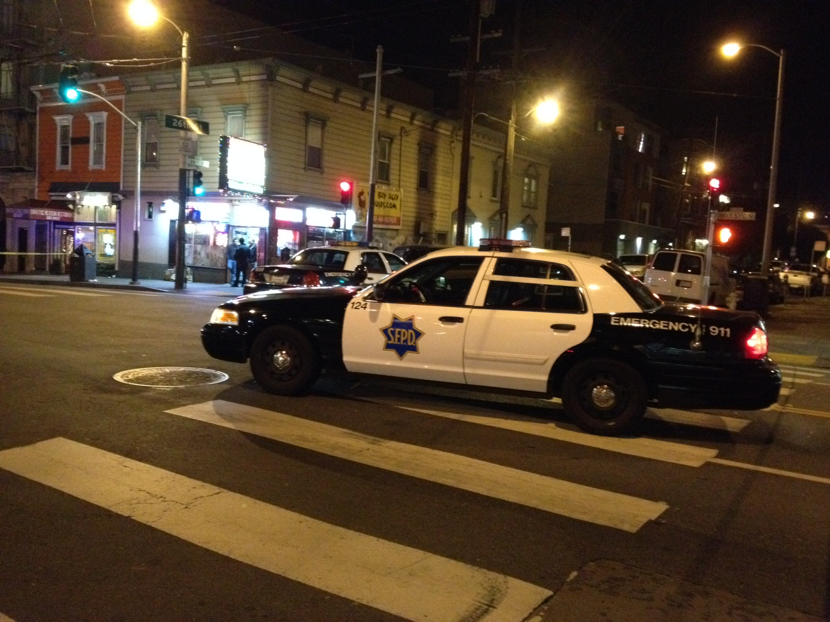 One Person Shot at 26th and Mission Sts.