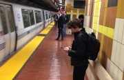 Obviously did not get the SFPD memo: Eyes up, phones down!