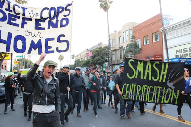 Mission Protesters Take On Cops, Cafes, Luxury Apartments