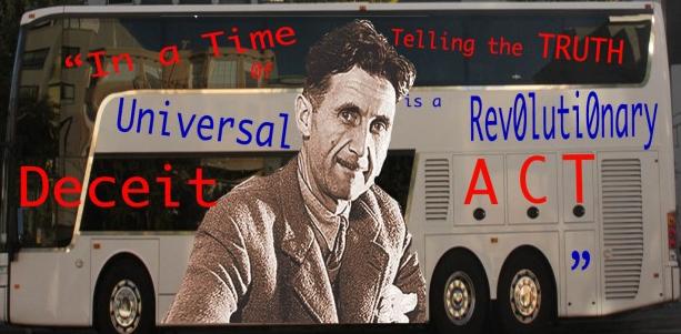 George Orwell by Mark Rabine