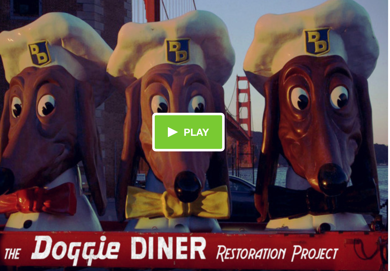 The kickstarter campaign that the Sunday canine blessing will benefit.