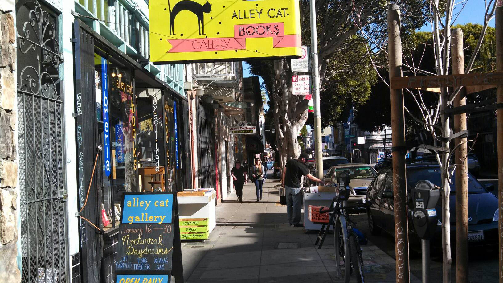 Rewriting 24th Street: Will Bookstore Alley Survive?