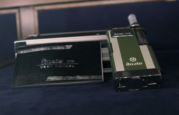 One of the more high-end e-cigarettes at the Vapory Shop.