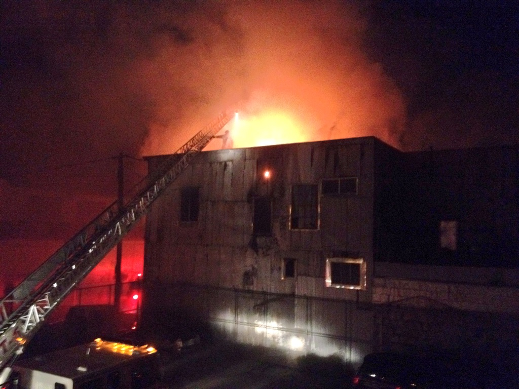 Fire Displaces 21, Future of Quirky Space Unclear