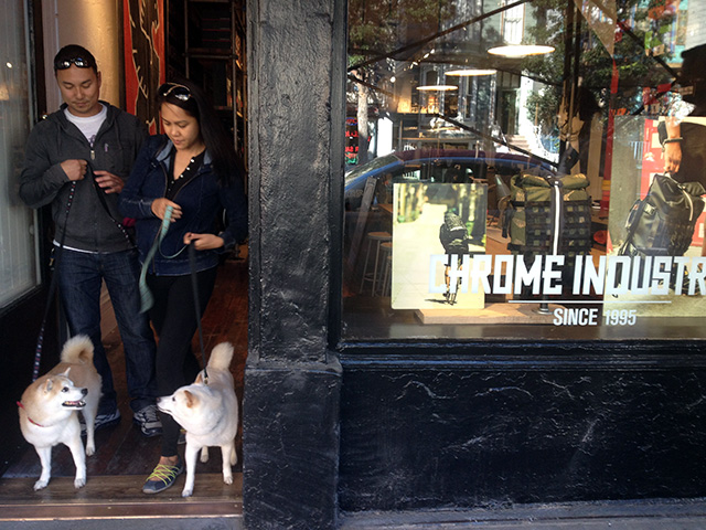 On Valencia Street. Chrome opened Friday.
