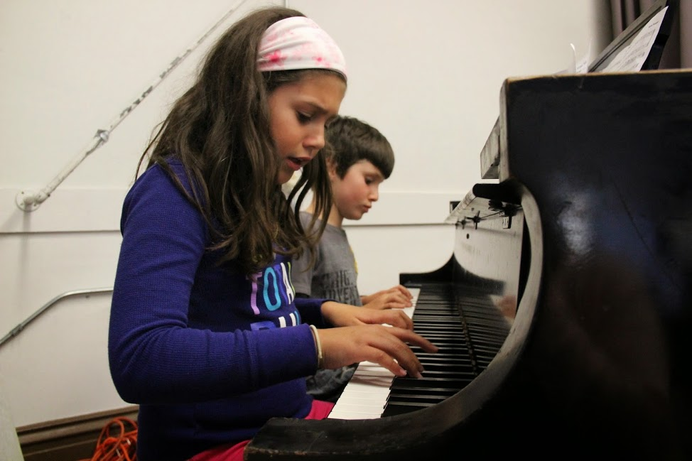 Nothing like learning to play the piano for a week and then jamming out!