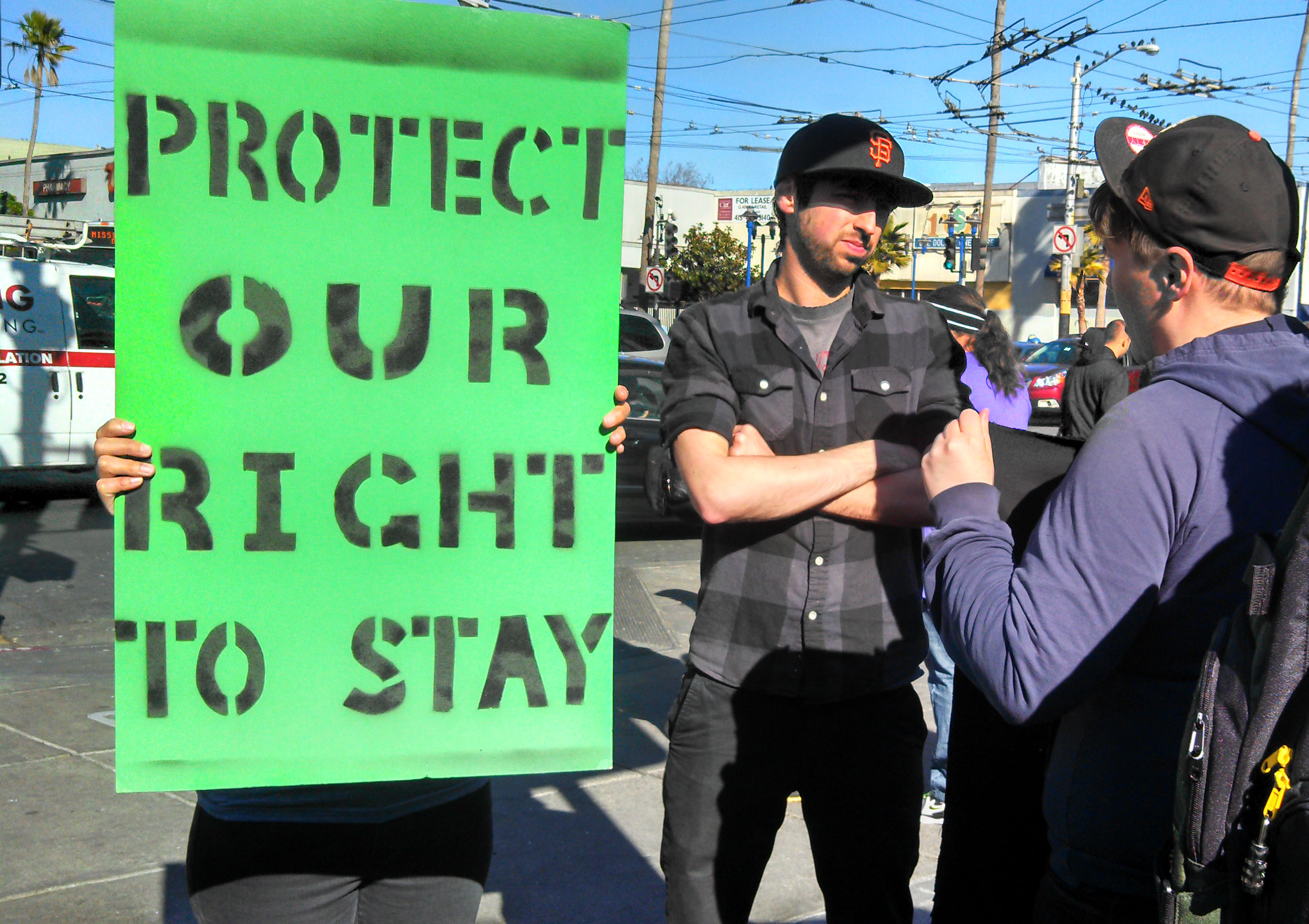 Advocates Rally Against Proposed Mission Condos