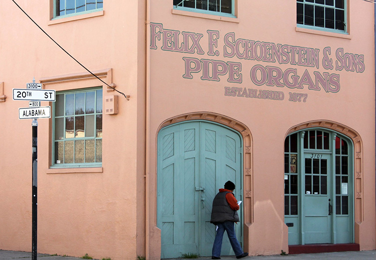 Pipe Organ Factory Again Houses Manufacturing