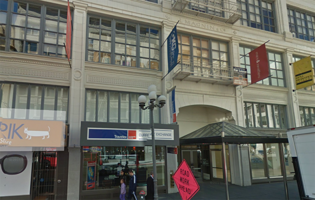 Google Street View of 77 Geary