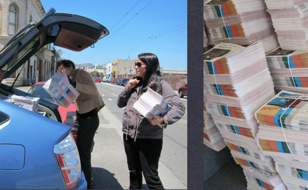 Our printed newspaper helps us to reach those on the other side of the digital divide.