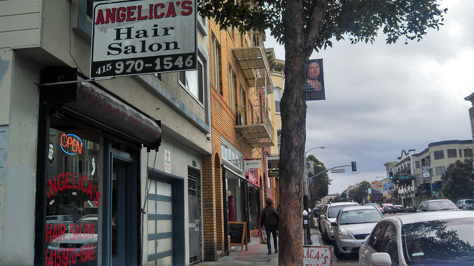 Saturdays at Angelica's Hair Salon