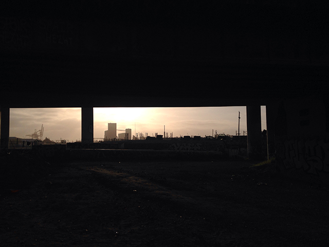 SNAP: Sunrise at a Homeless Encampment