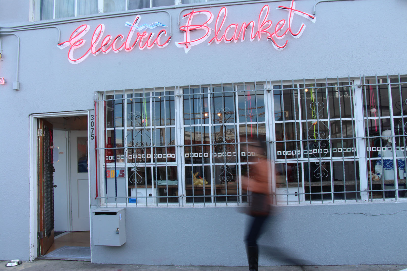 Electric Blanket is on 17th Street at Folsom and serves as both as boutique and art gallery.