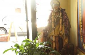 Altar in Botanica Yoruba. Photo by Daniel Hirsch.