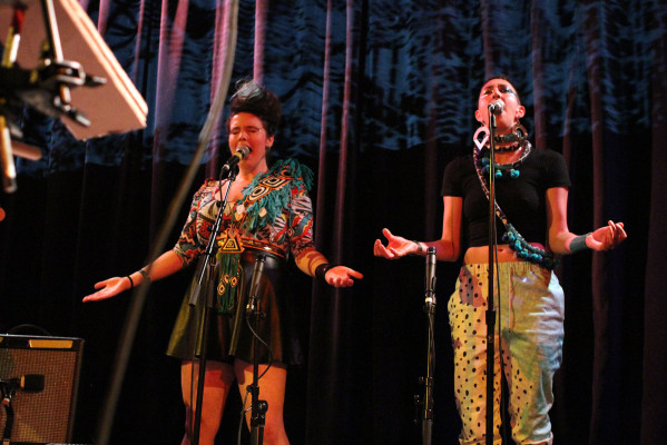 The new tune-yards, now featuring two extra vocalists