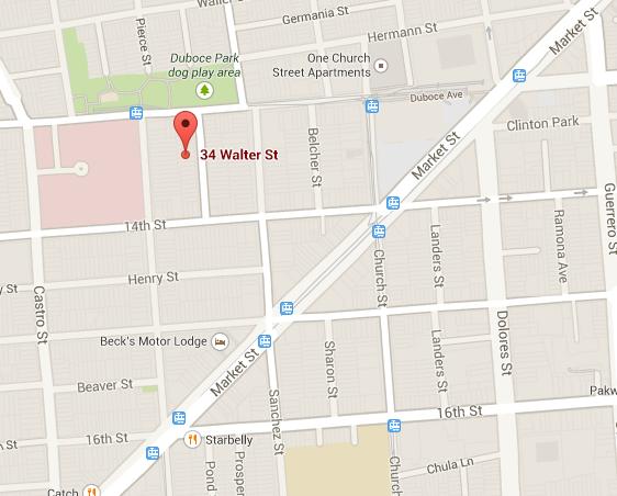 3-Alarm Fire Near Duboce Park
