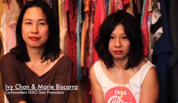 Ivy Chan and Maria Biscarra of ISSO.