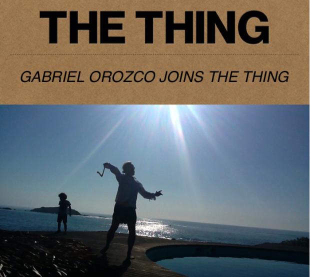 Gabriel Orozco, Solvitur Boomerando, 2012, video still, courtesy Marian Goodman Gallery, New York. Taken from The Thing