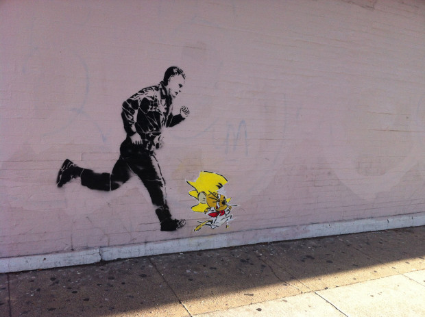 Spotted on 19th, between Valencia and Lexington.