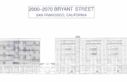 Image of preliminary design from Bryant Street project plan.