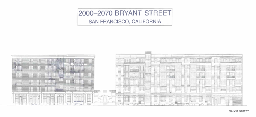 Preliminary Plans for Bryant Street Property