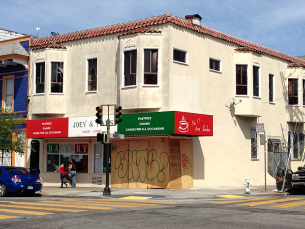 The bakery is close to being ready, says the insurance agent.