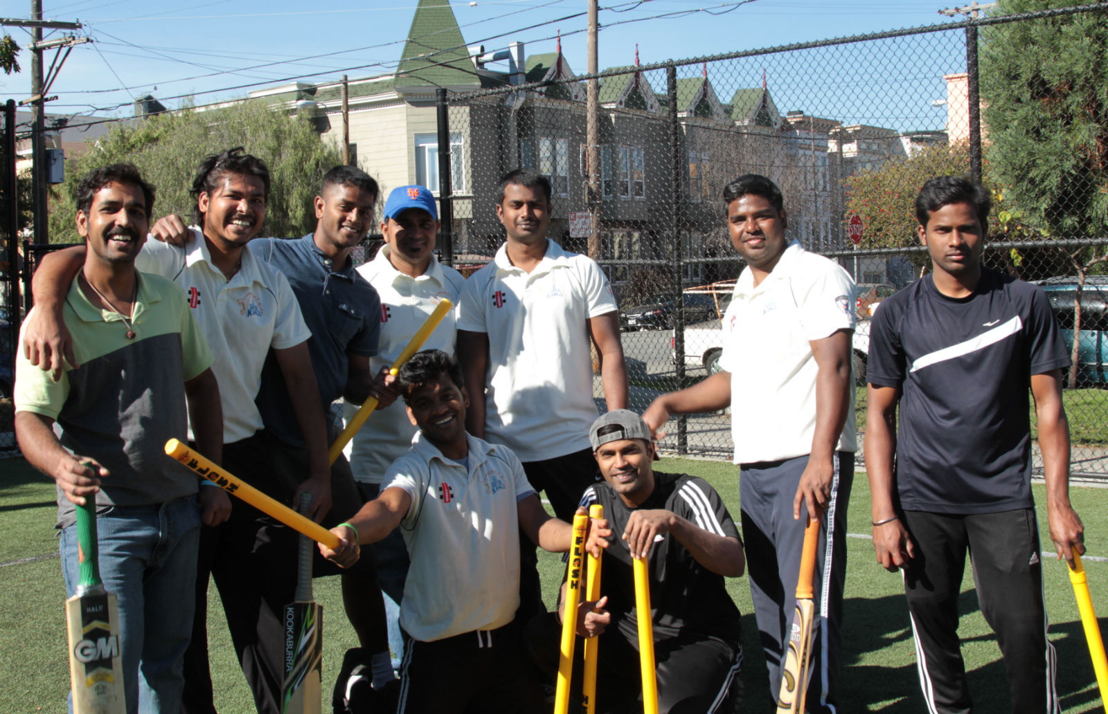 The SF Super Kings, San Francisco's only cricket team.