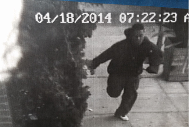This photo was supplied by a local business security camera.