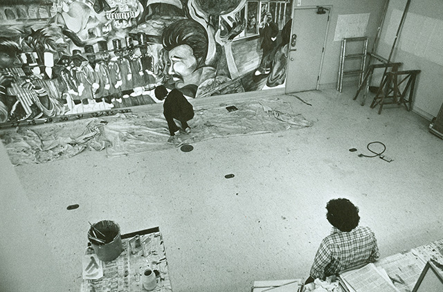 Iconic Mural at Bank of America Turns 40