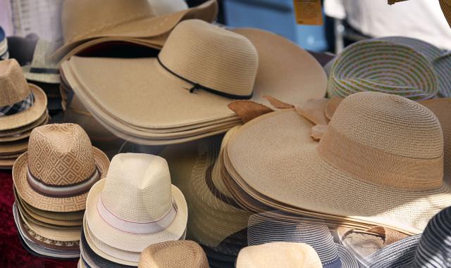 Hats Photo by George Lipp
