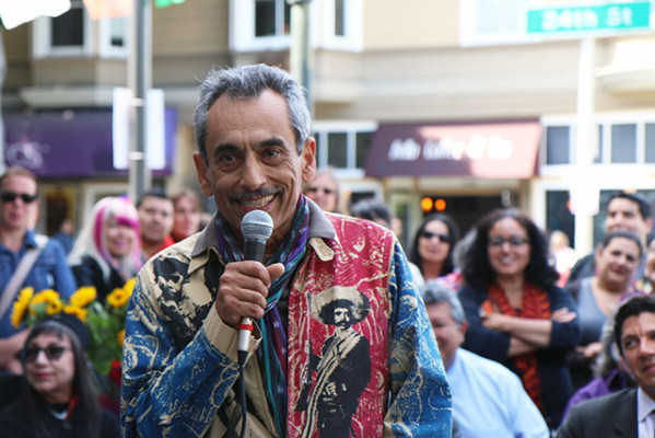 Poet Laureate Alejandro Murguia's poetry documents the unique character of Calle24.