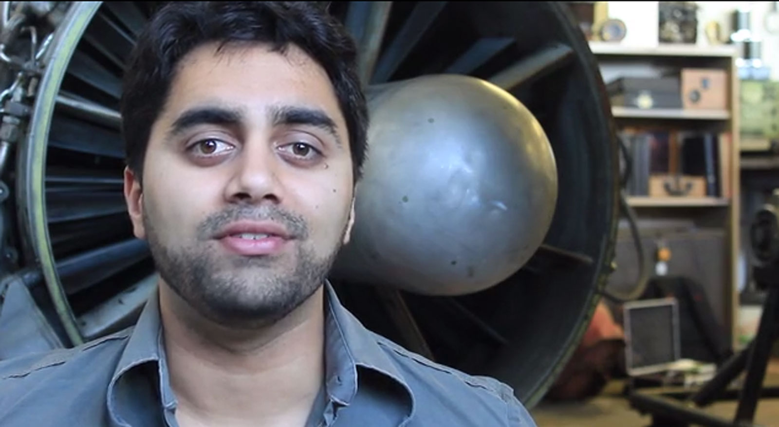 Photo from Kunal Dovedy's Kickstarter video. https://www.kunaldovedy.com/