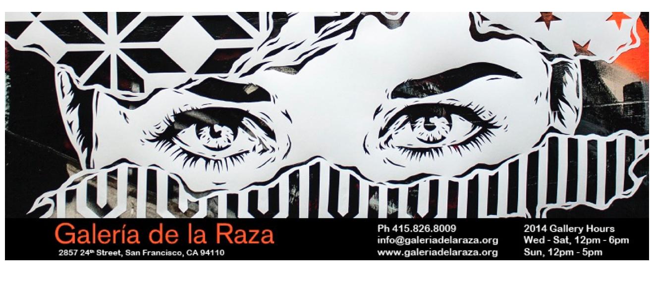 Screenshot, courtesy of the GAlería de la Raza