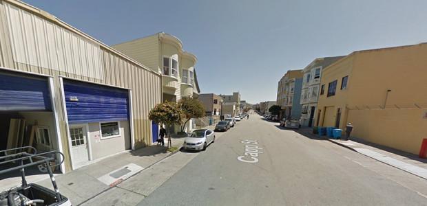 Google street view of the 200 block of Capp Street.