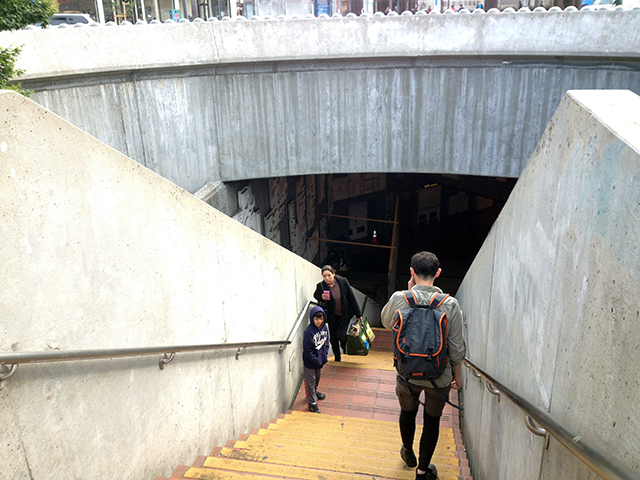 Escalator At 24th St. BART Out Until the End of June