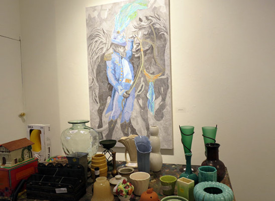 Vases and Art.