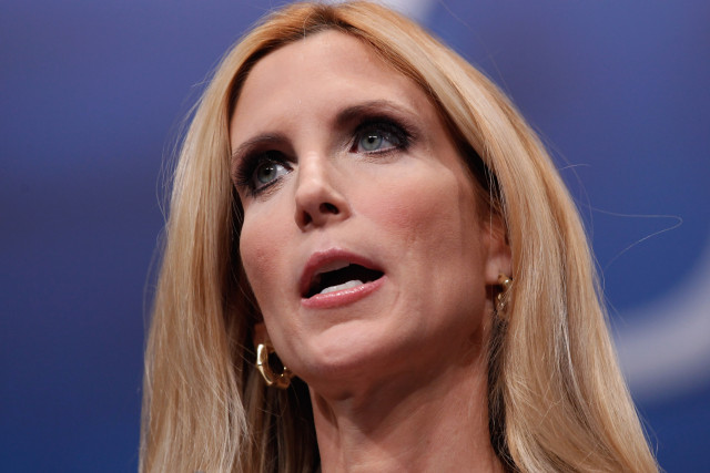 Ann Coulter. Photo from The New York Observer.